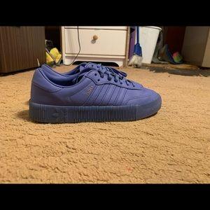 Lavender Adidas Samba
